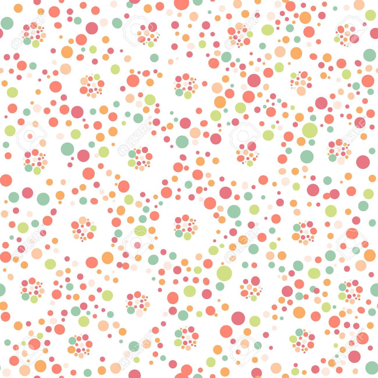 Seamless à pois. Seamless peut être utilisé pour le papier peint, des  motifs de remplissage, fond de page web, textures de surface