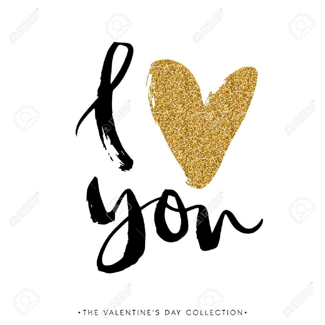 I love you stock photos royalty free business images i love you i heart you valentines day calligraphy glitter card hand drawn biocorpaavc