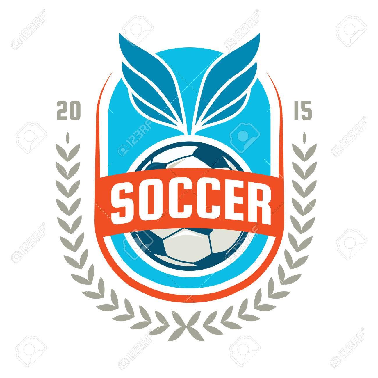 Football Badge Logo Template Design,soccer Team,vector ...