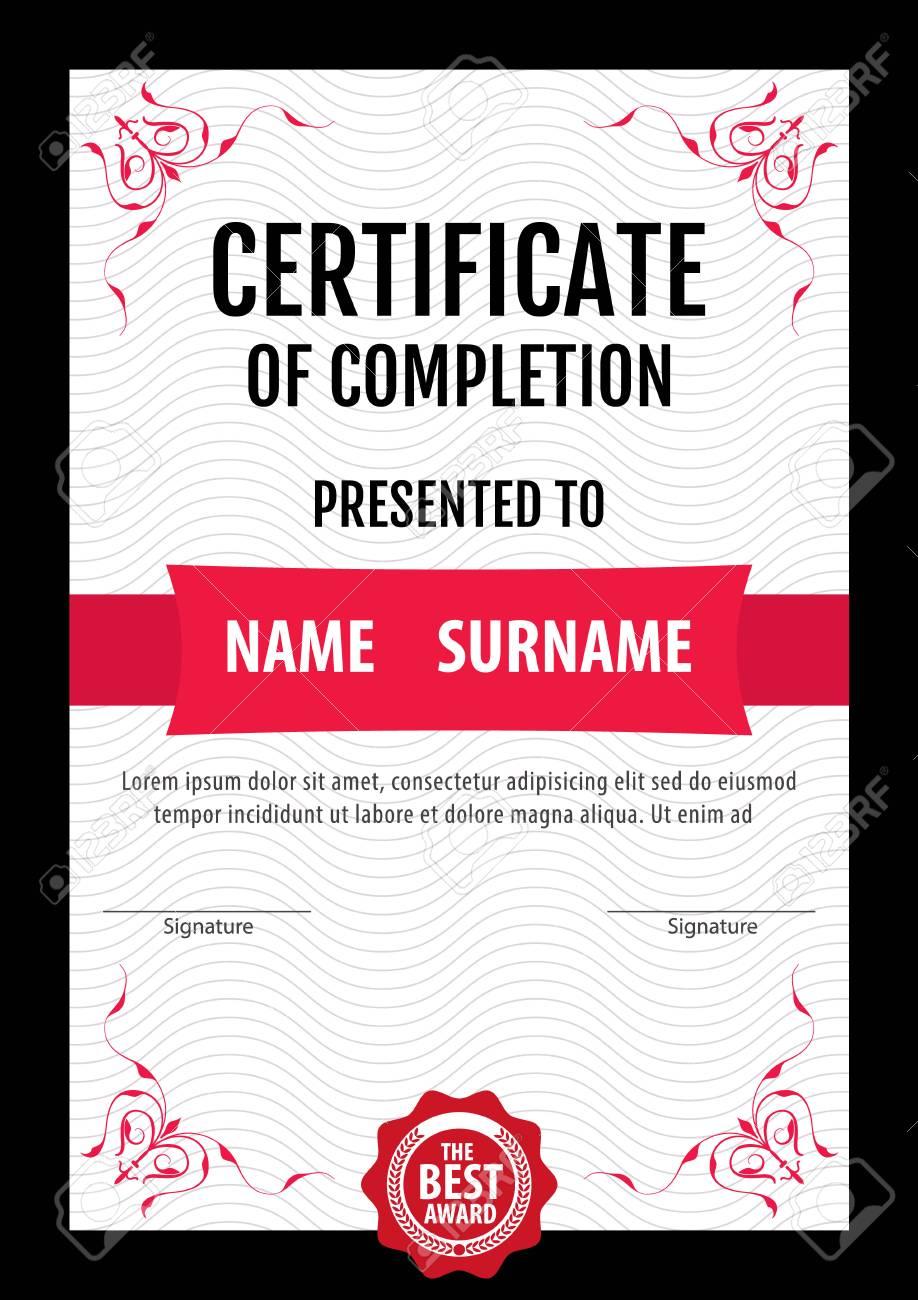 Vertical certificate templatediplomaletter size vector royalty vertical certificate templatediplomaletter size vector stock vector 63887518 spiritdancerdesigns Images