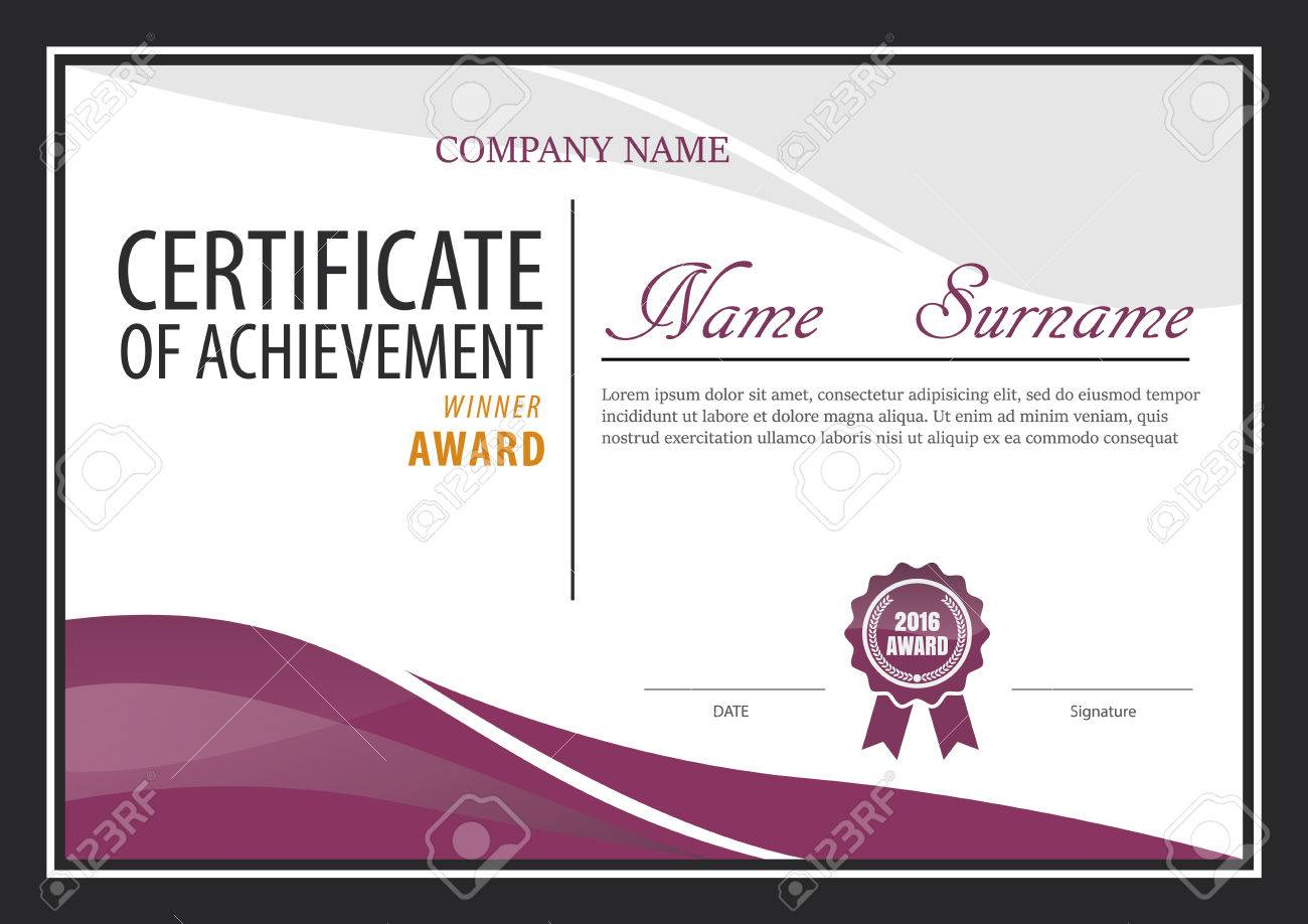 Resume Templates 2018 » certificate template diploma layout a size ...