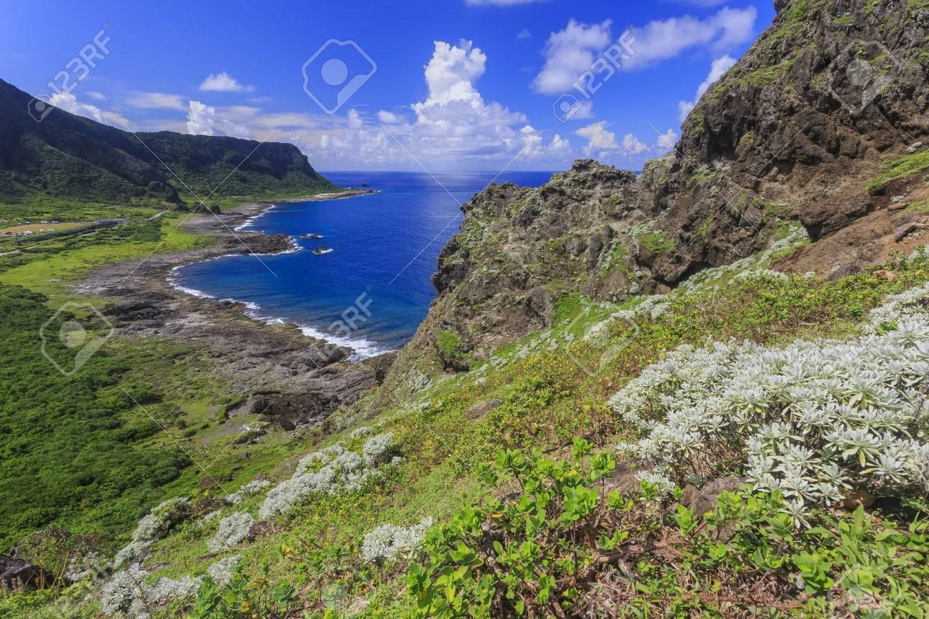 Paisajes Naturales Hermosos En La Isla Orquídea Taitung Taiwan