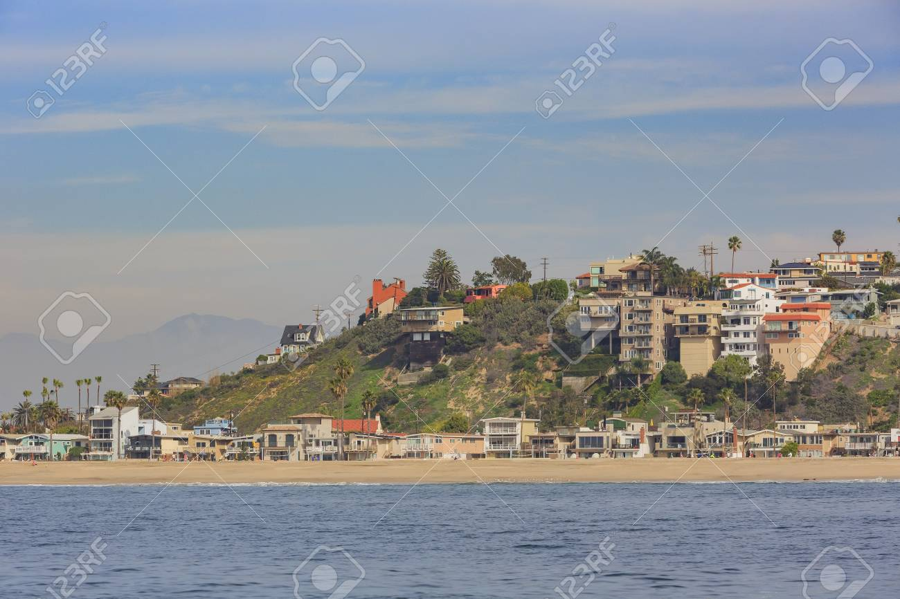 Morning View Of The Shore Near Manhattan Beach And Redondo Beach Stock Photo Picture And Royalty Free Image Image 71496273