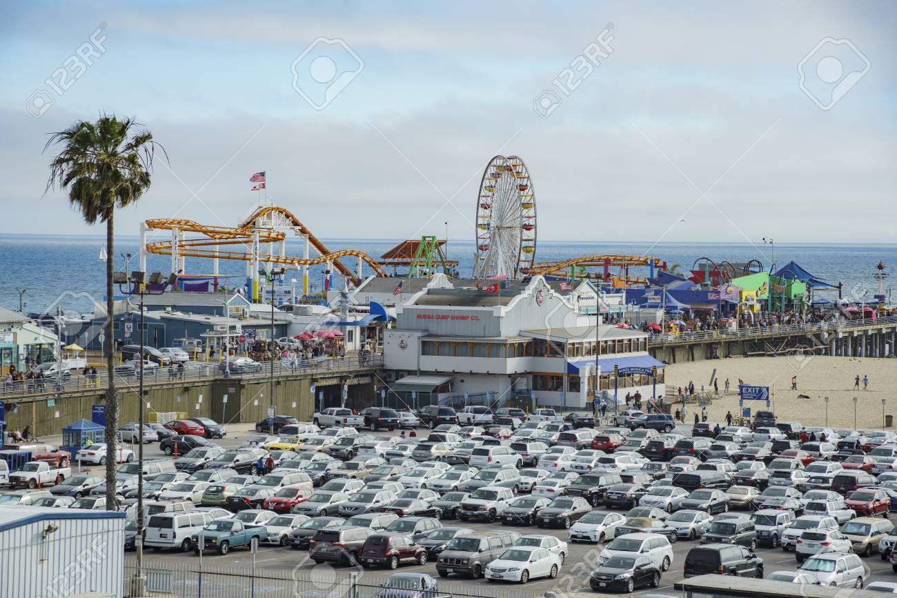 free parking near santa monica pier
