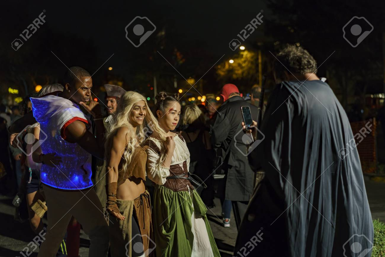 los angeles, oct 31: special event - west hollywood halloween