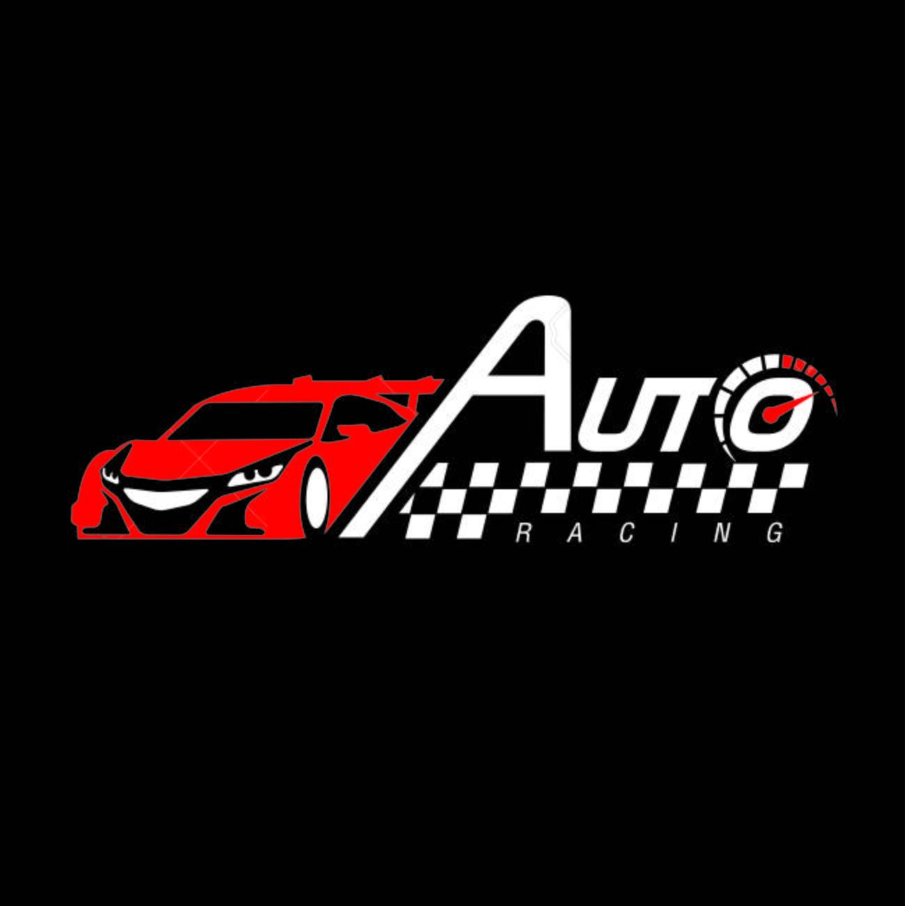 Auto racing logo vector stock vector 93888570
