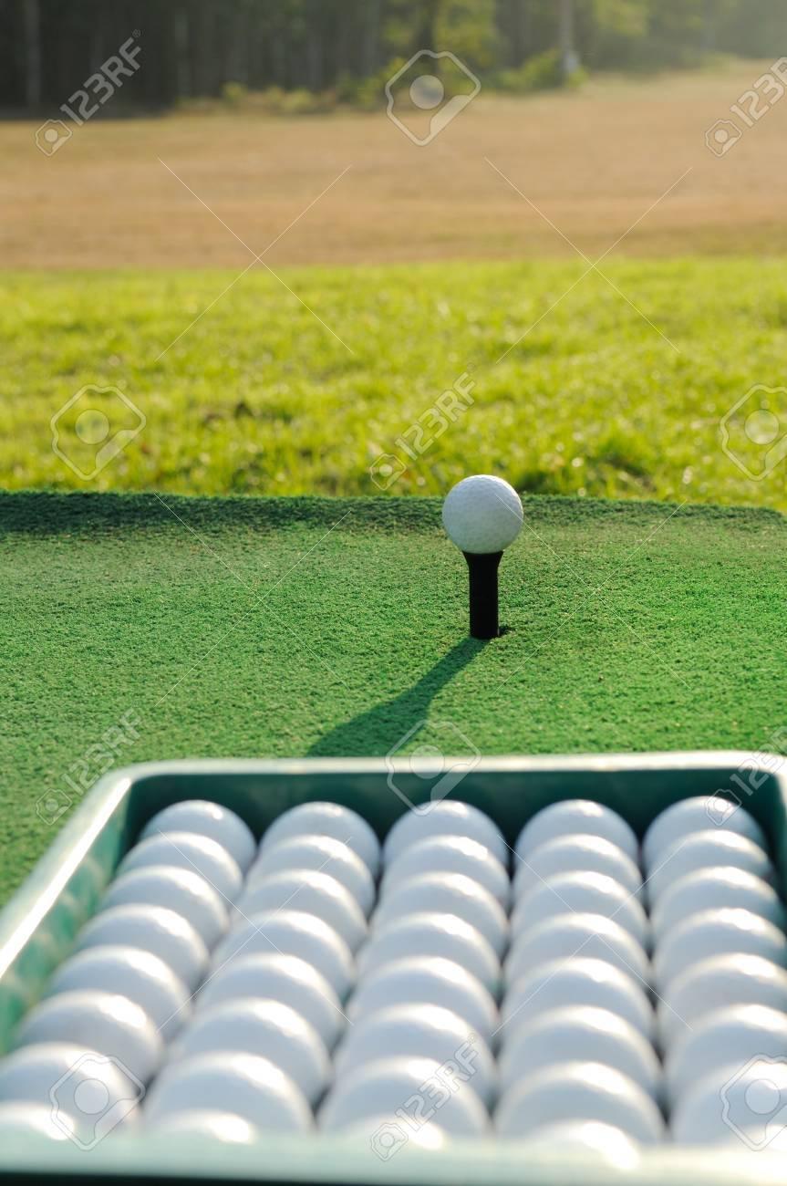 Bucket of Practice Golf Balls - 17665970