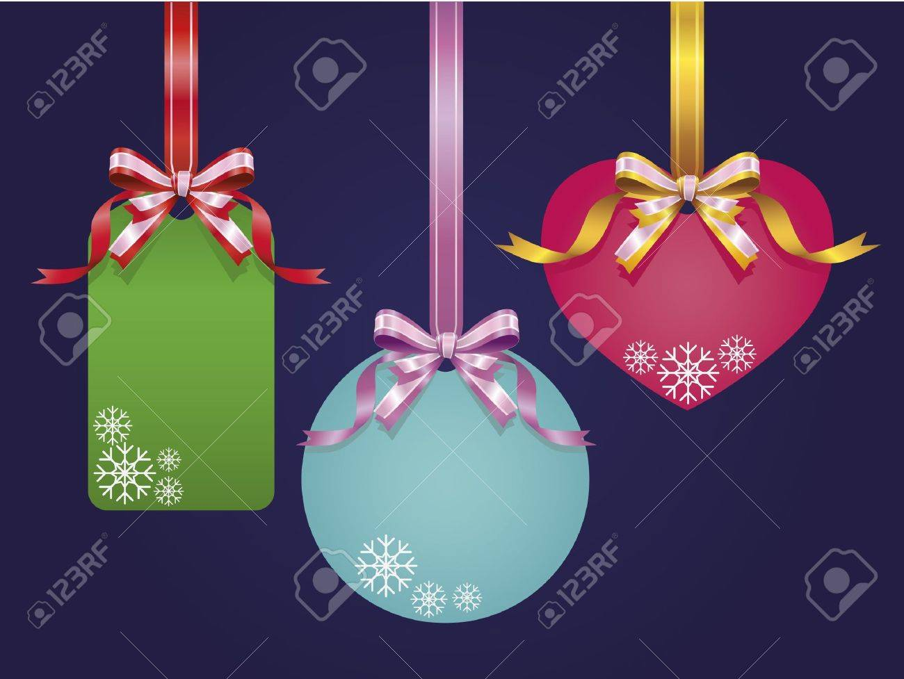 Ribbon and Price tags Stock Vector - 11375417