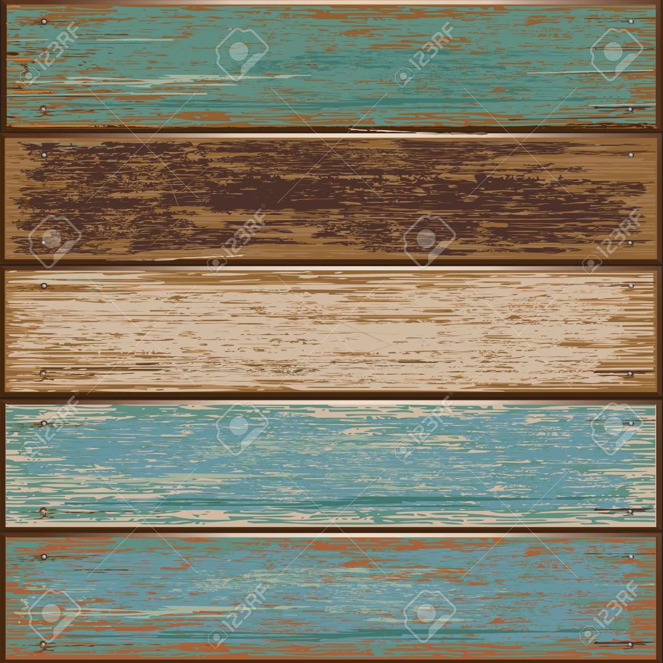 illustration of Old color wooden texture background Stock Vector - 12801661