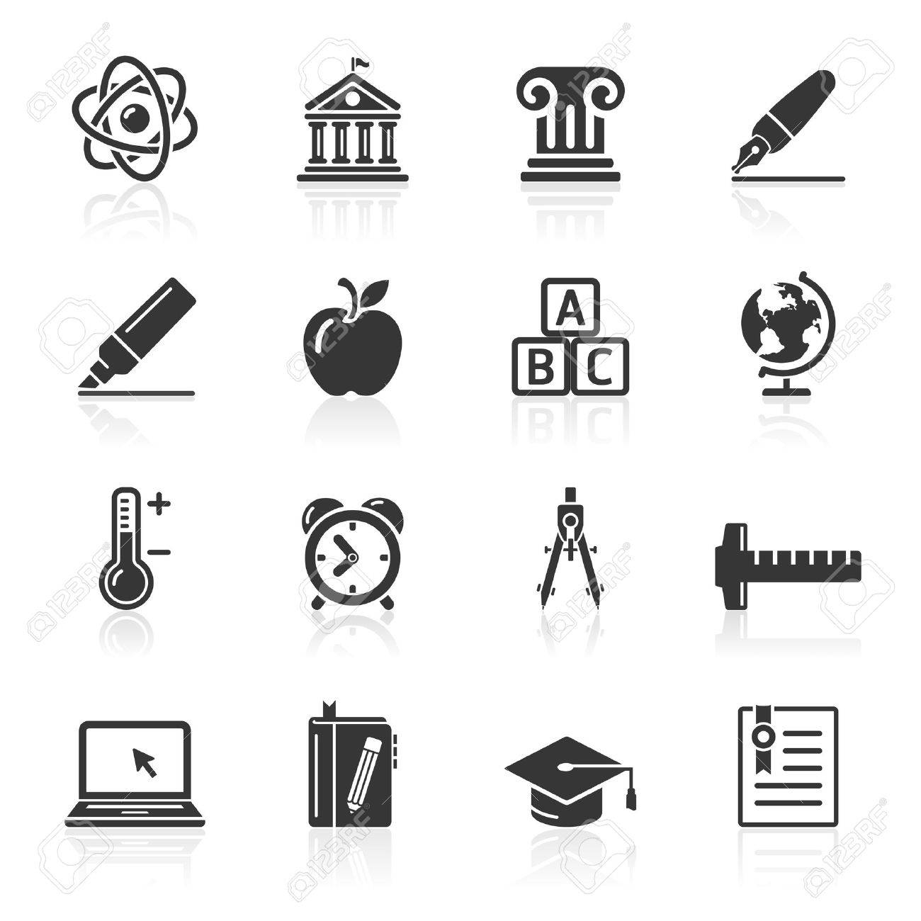 Education Icons set 2  Vector Illustration  More icons in my portfolio Stock Vector - 16400365