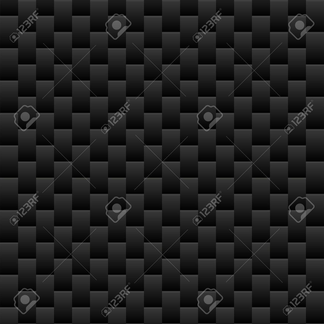 シームレスな黒の質感の壁紙ベクトル イラストのイラスト素材 ベクタ