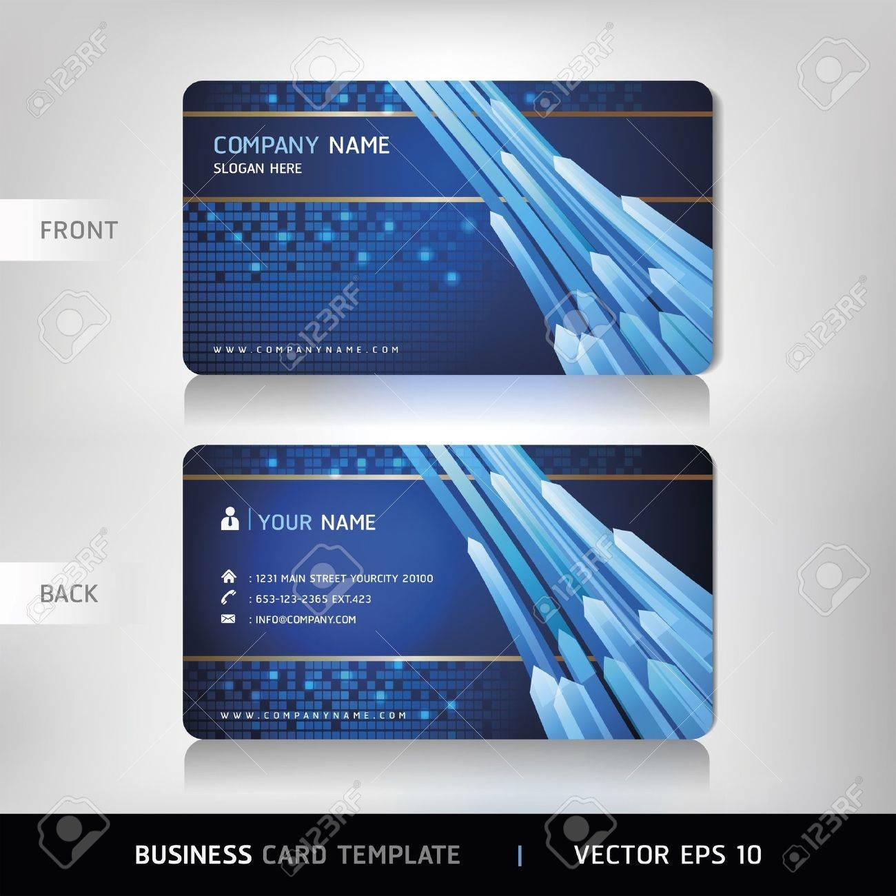 Business Card Set Vector illustration Stock Vector - 18759347