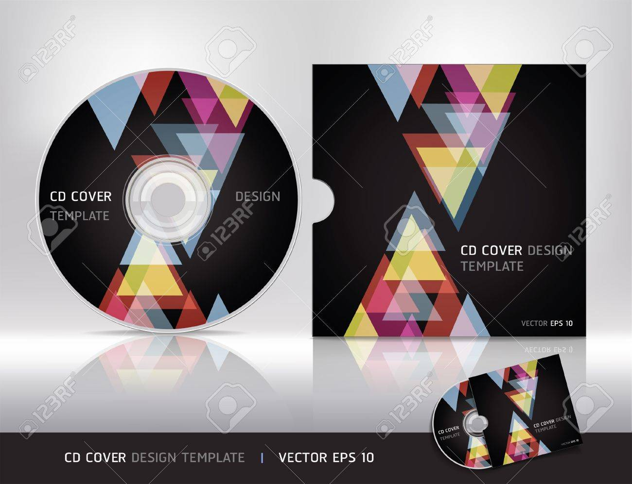 Cd box template download free vector art stock graphics amp images - Vector Cd Template Cd Cover Design Template Vector Illustration