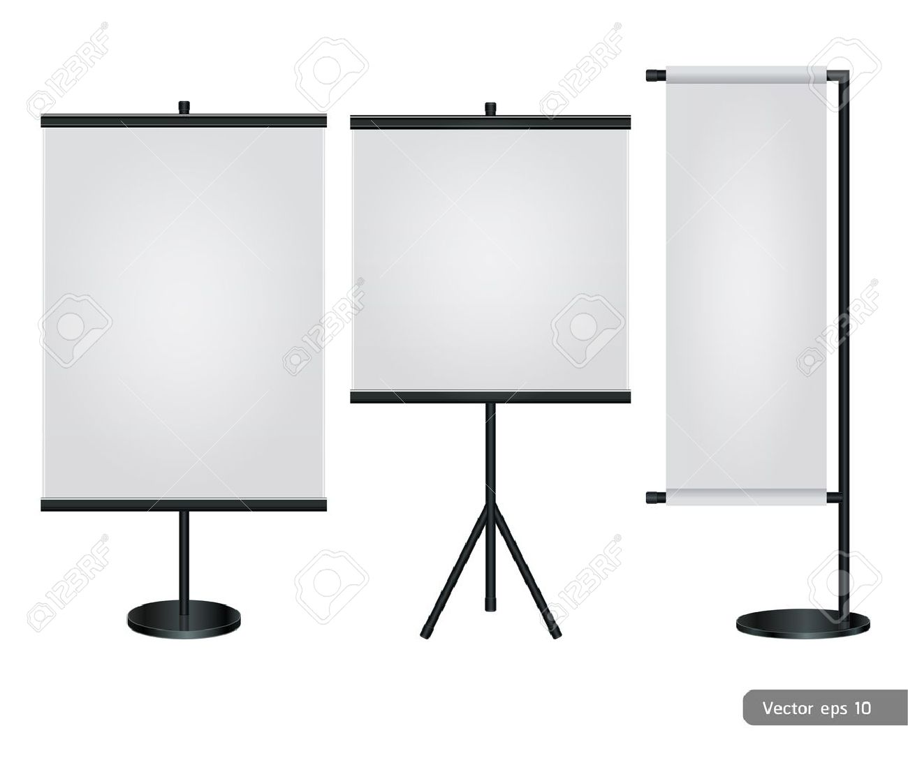 Vector Banner Stand