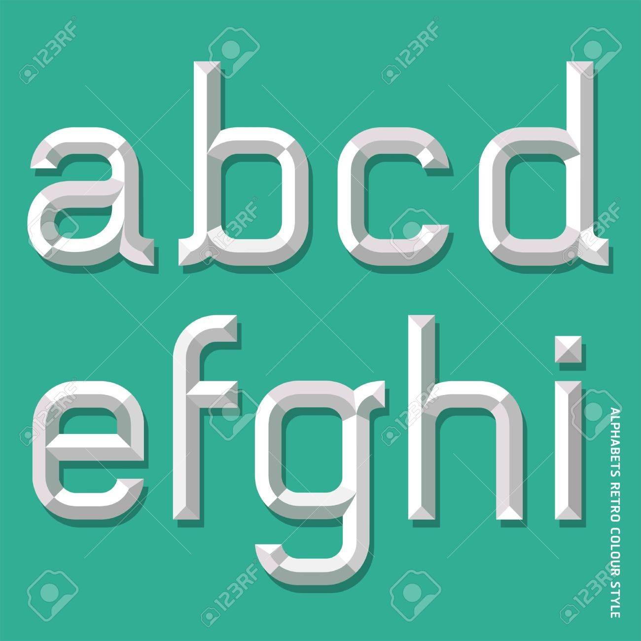 Alphabet modern style  Vector illustration Stock Vector - 20230173