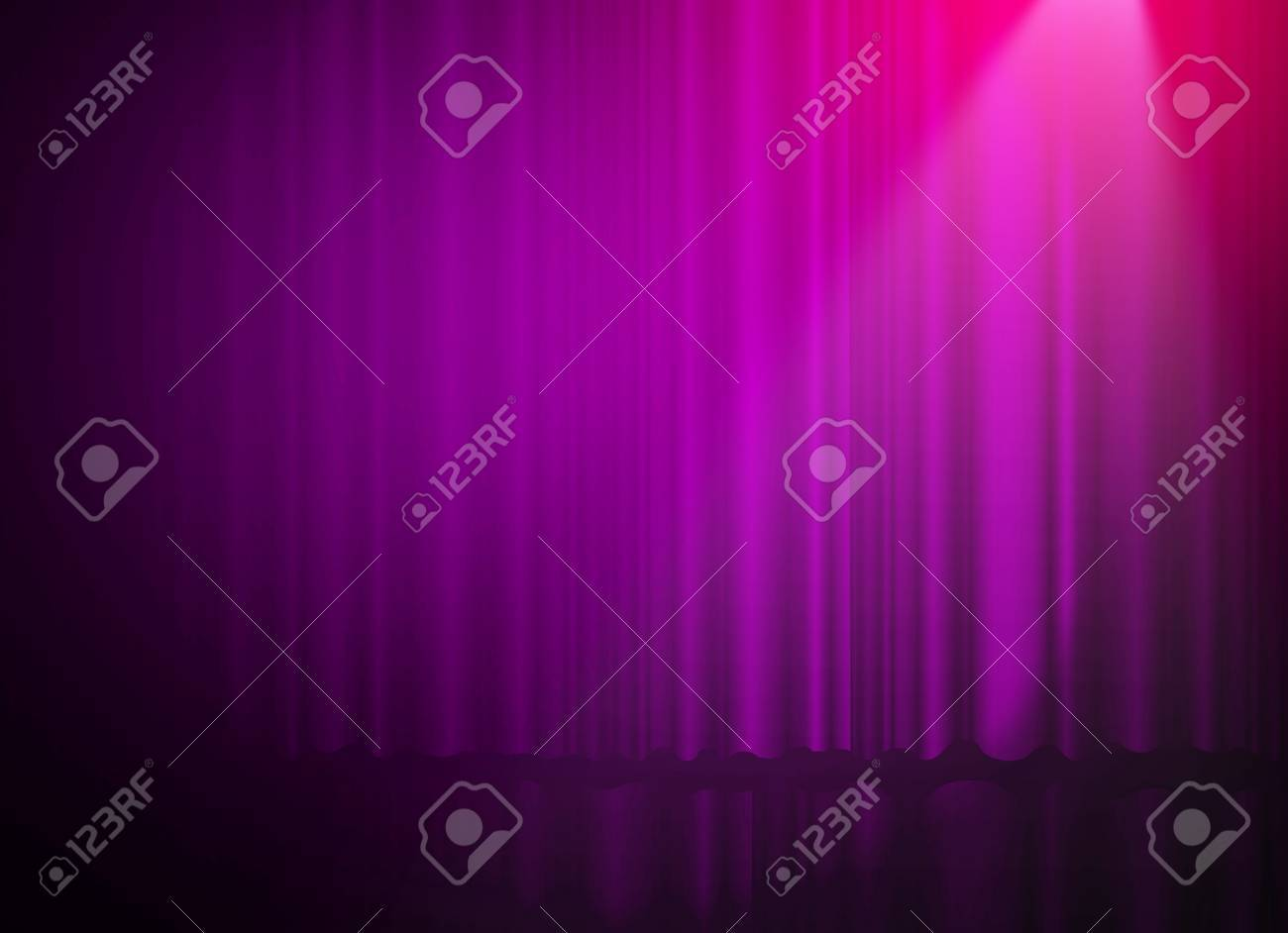Great Stock Photo The Concert On Stage Background With Flood Lights Pink