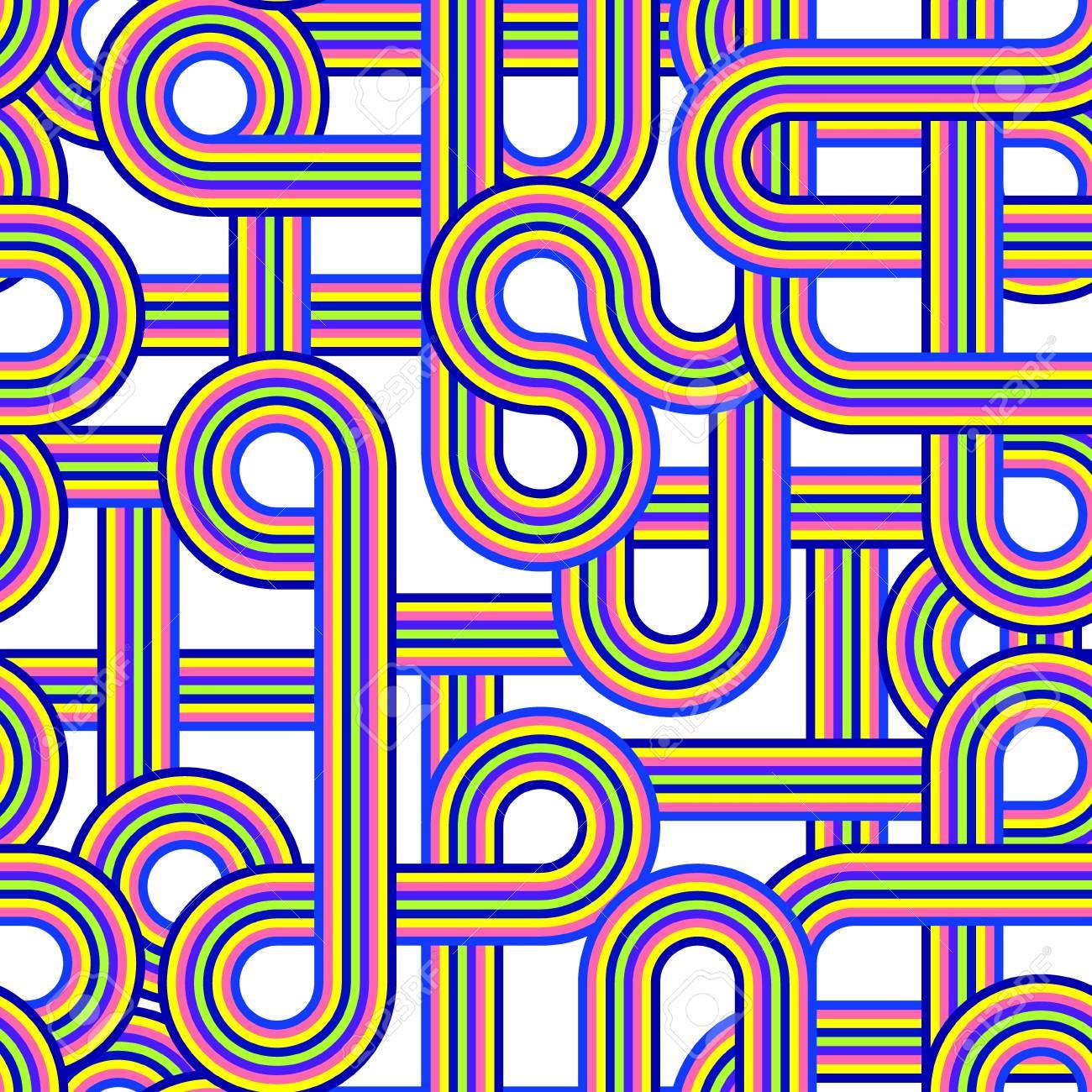 Illustration of abstract sramless pattern Stock Vector - 14701061