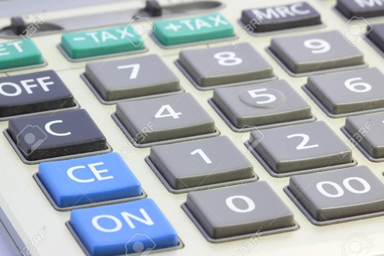Close up Calculator Stock Photo - 17478694