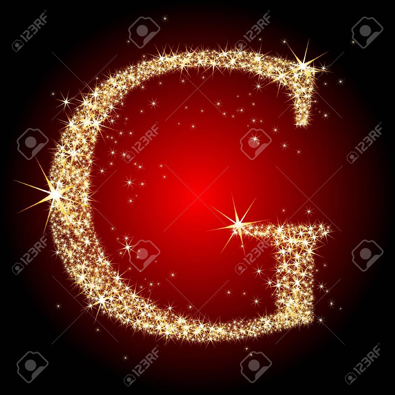 letter star G Stock Vector - 5712491