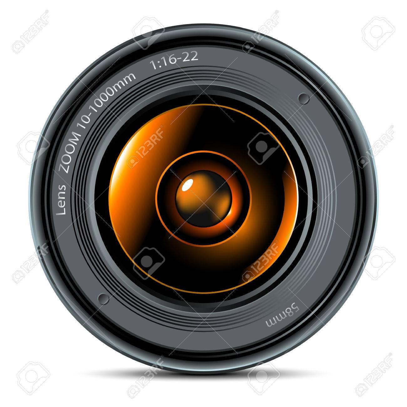 photo lens Stock Vector - 6503841