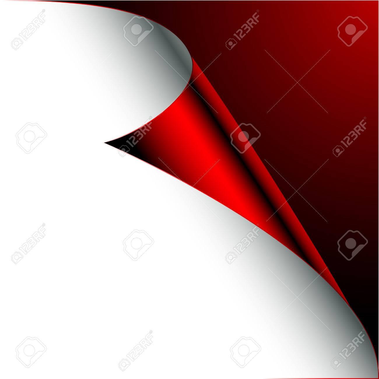 corner of paper Stock Vector - 6965013