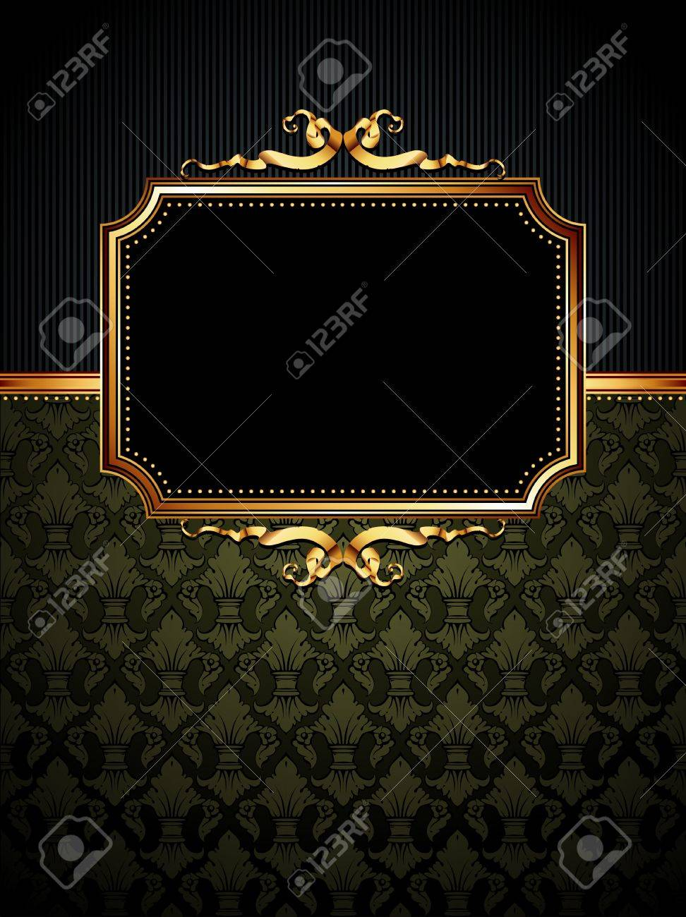 ornate frame Stock Vector - 9150550