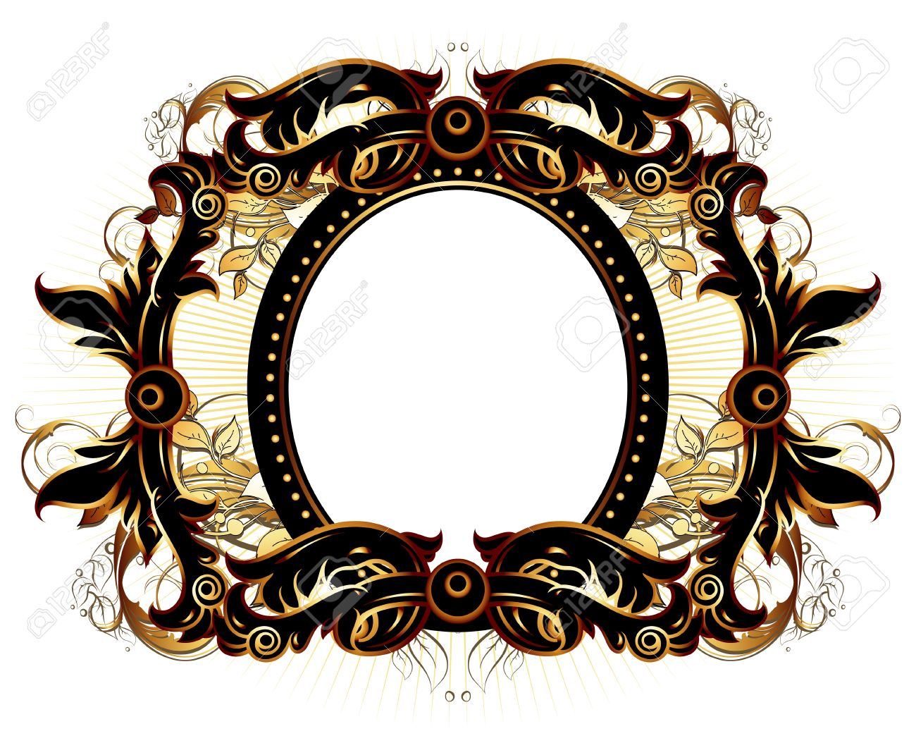 ornate frame Stock Vector - 10013969