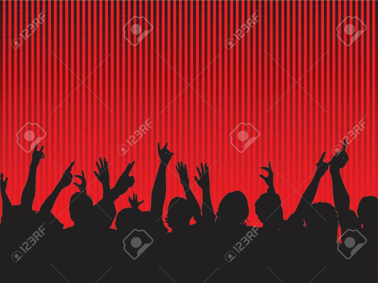 Audience - vector Stock Vector - 512008