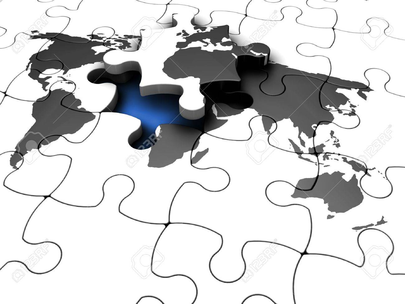 3d render of a jigsaw puzzle of a world map with the final piece 3d render of a jigsaw puzzle of a world map with the final piece lifted out gumiabroncs Gallery