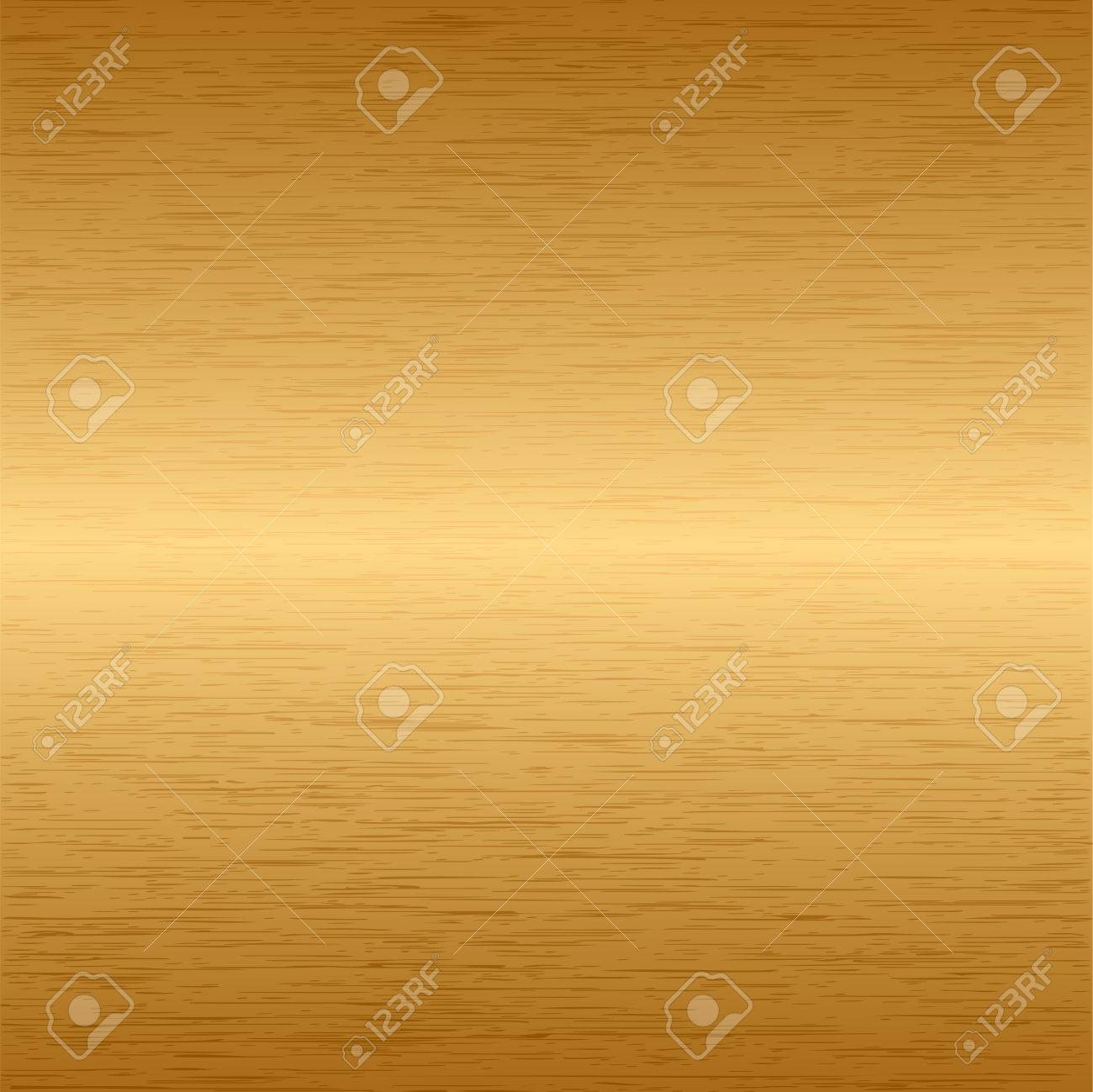 Brushed metallic gold background Stock Vector - 4818713