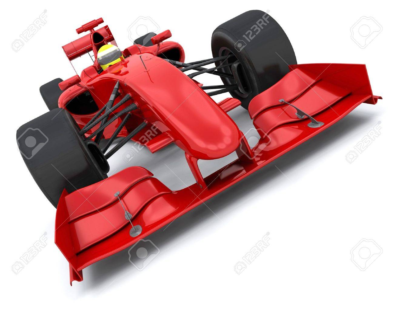 3d render of a formula one racing car stock photo picture and