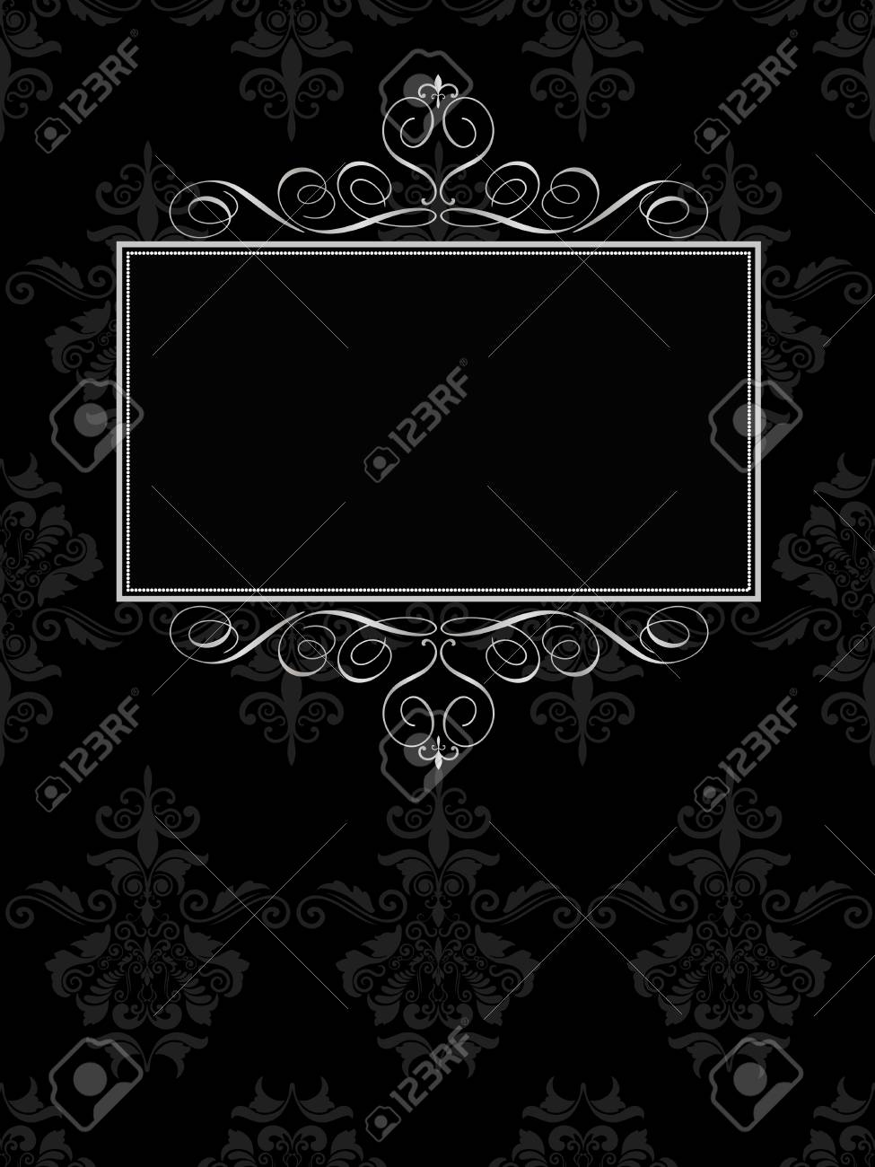 Decorative background with space for text Stock Vector - 6362421