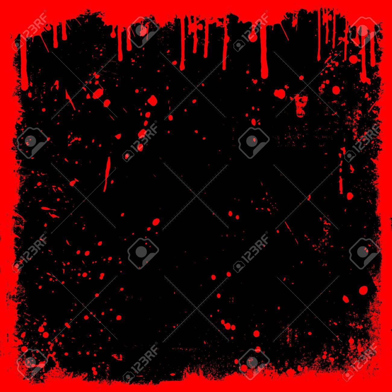 Detailed grunge background with drips and splats Stock Photo - 7287158