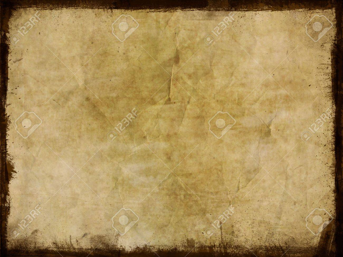 dirty grunge background with splats and dark border stock photo