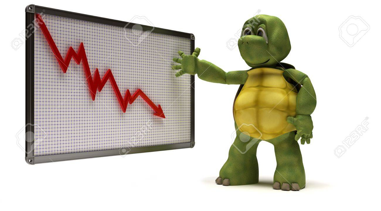 3D Render of a Tortoise with Stock Photo - 9226741