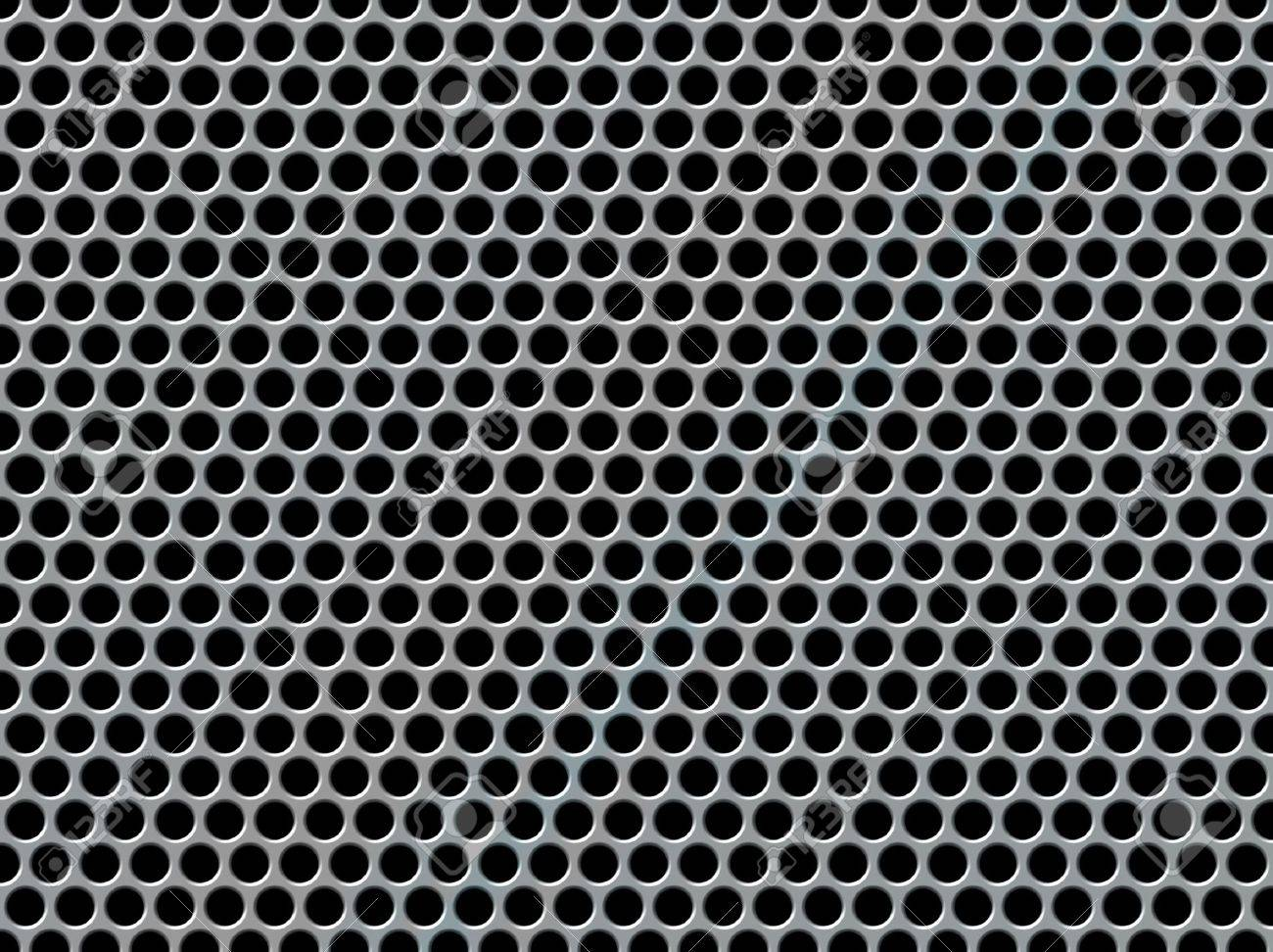 Abstract background with a perforated metal effect Stock Photo - 9851421
