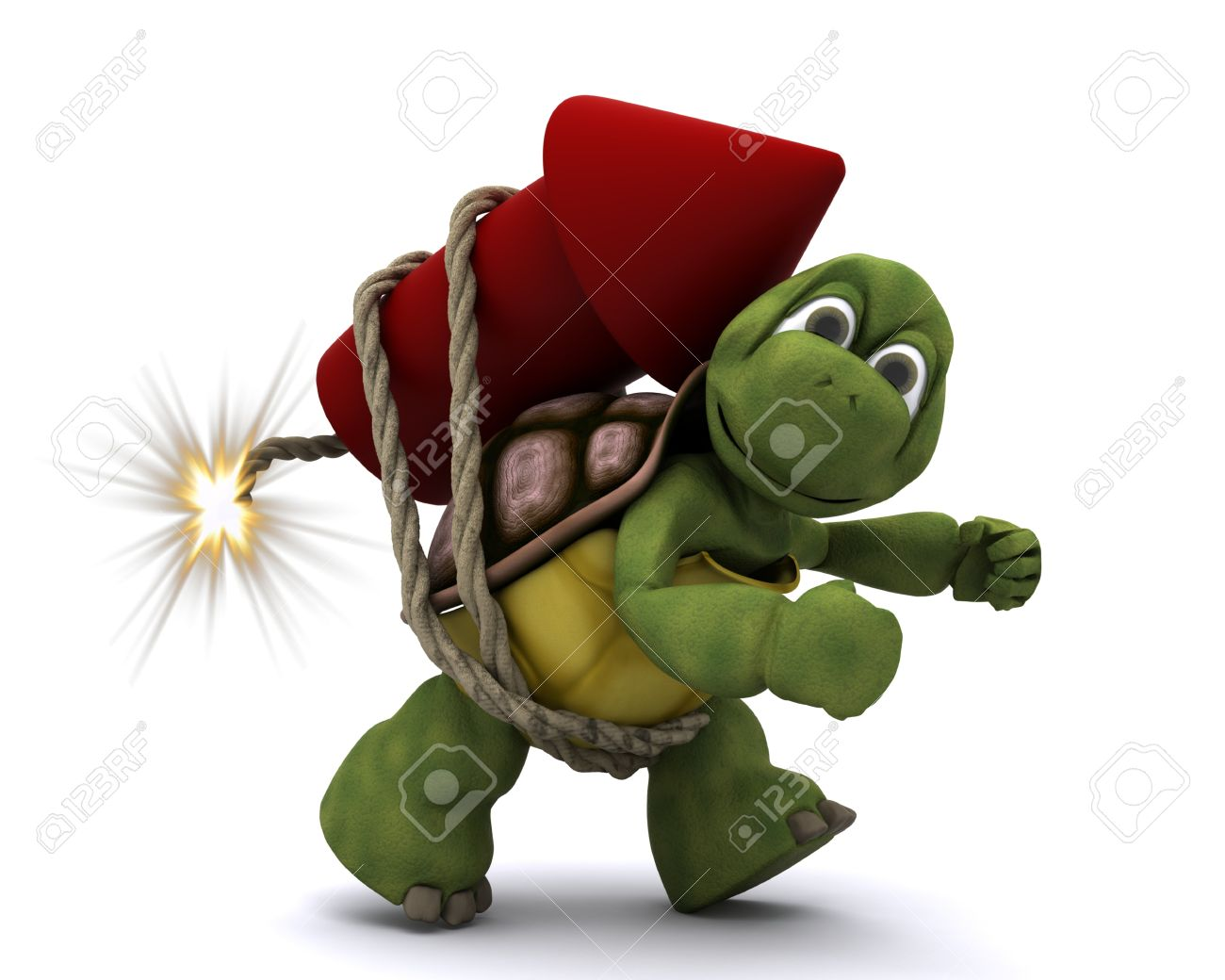tortoise lighting. 3d Render Of Tortoise Lighting A Firework Stock Photo - 10485292 E