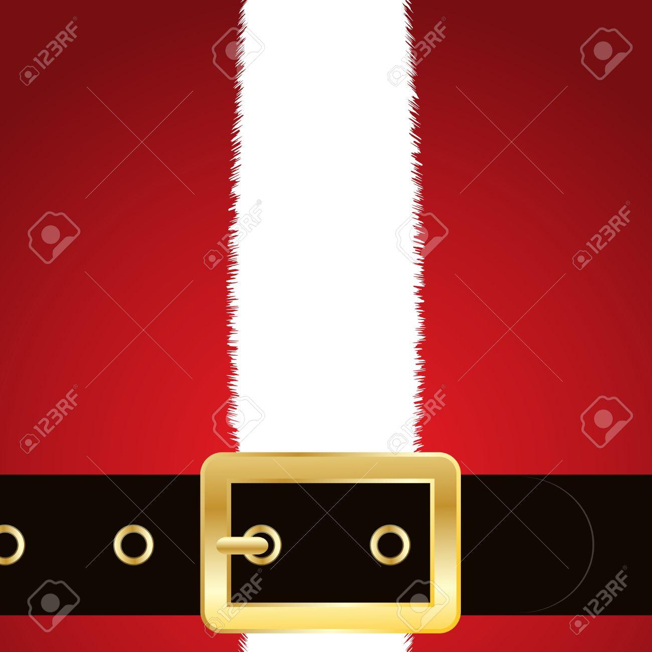 close up of the coat and belt of santa claus stock photo 10528822 - Santa Claus Belt