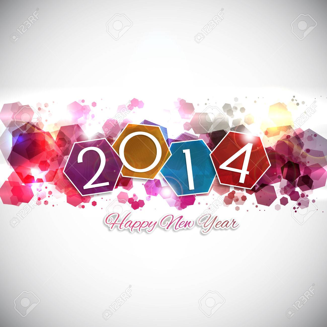 Abstract background for the Happy New Year Stock Photo - 23565080