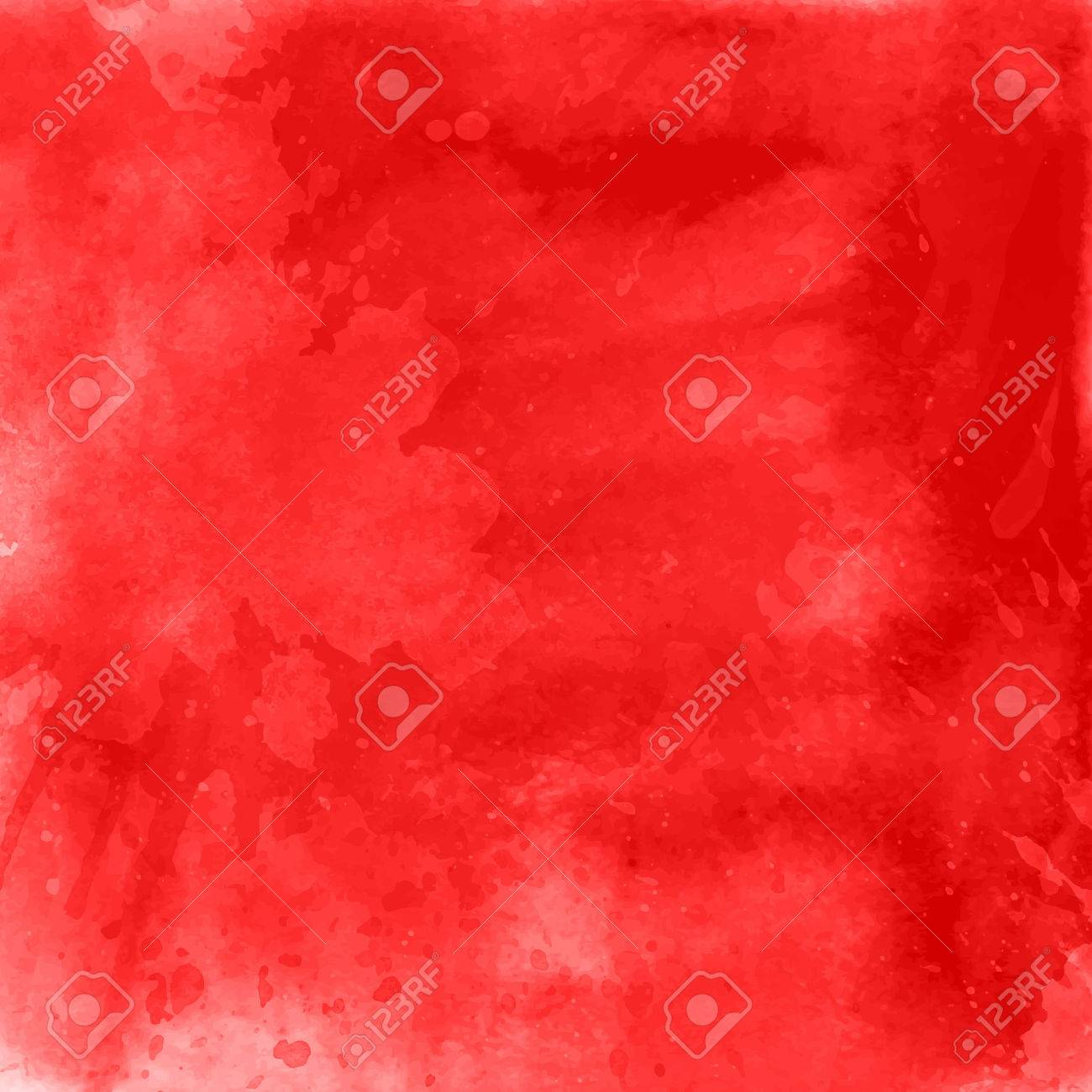 Red watercolour background - ideal for Valentine's Day - 51662850