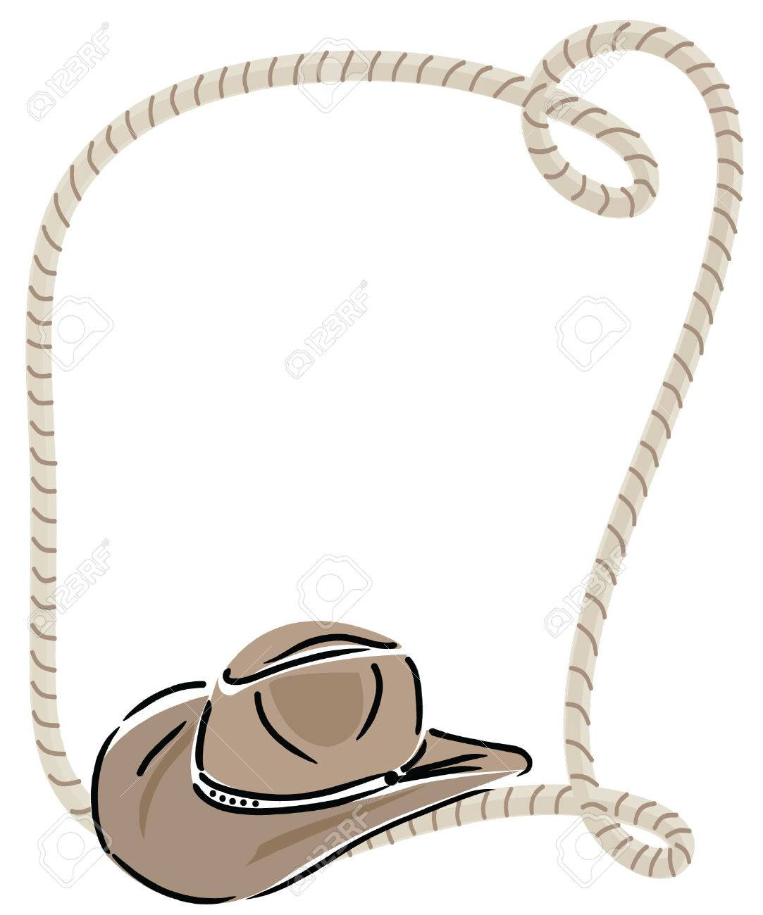 cowboy hat and rope royalty free cliparts, vectors, and stock illustration.  image 74950691.  123rf
