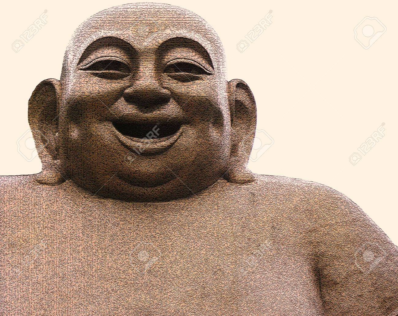 Giant Laughing Buddha Statue Laughing Buddha Statue of a