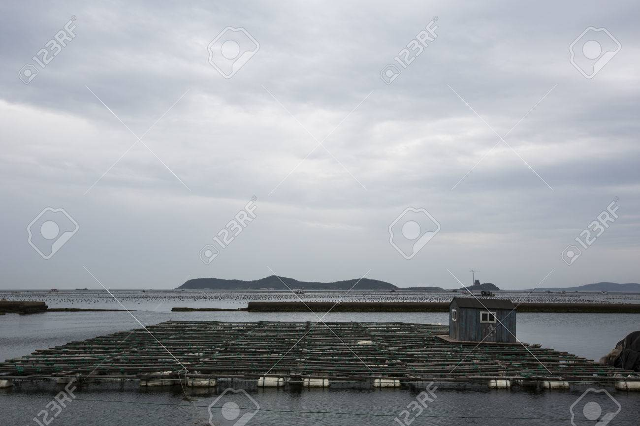 Aquaculture, Fish Farming Stock Photo, Picture And Royalty Free ...