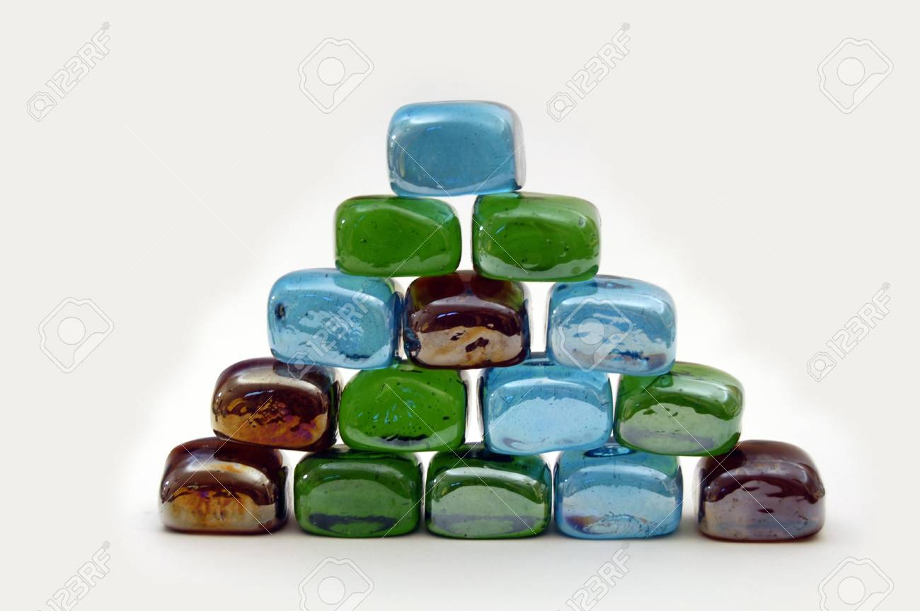 Colored glass shape Stock Photo - 1997166