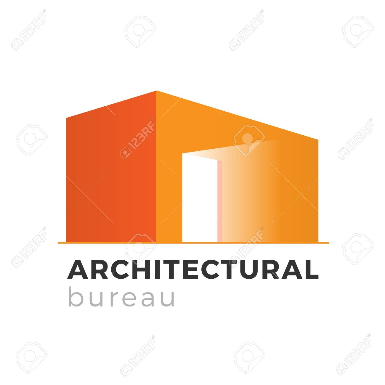 Architecture Realty Or Construction Company Logo Design Concept