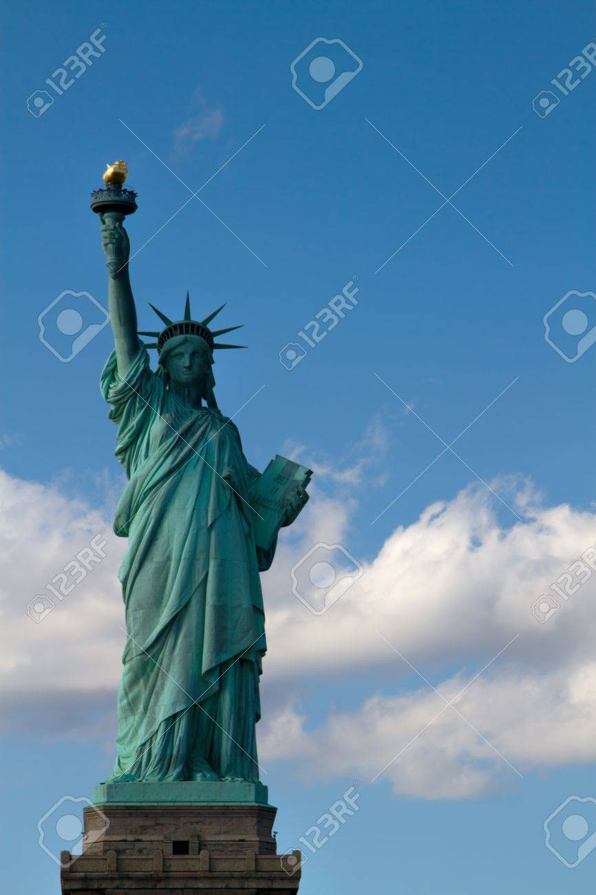 Statue of Liberty on Liberty Island in New York City Stock Photo - 12892442