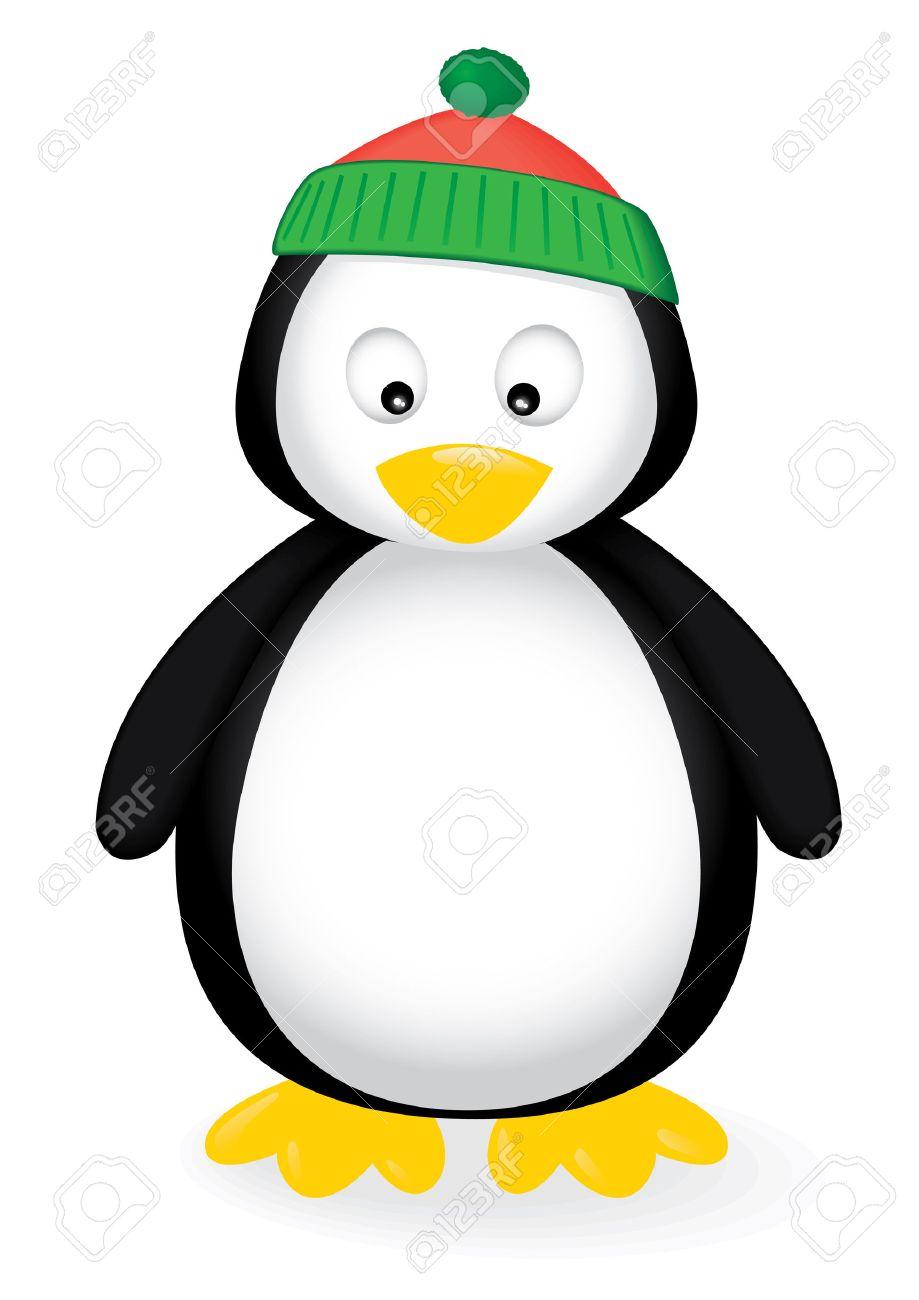 illustration of a cute penguin. - 6251953