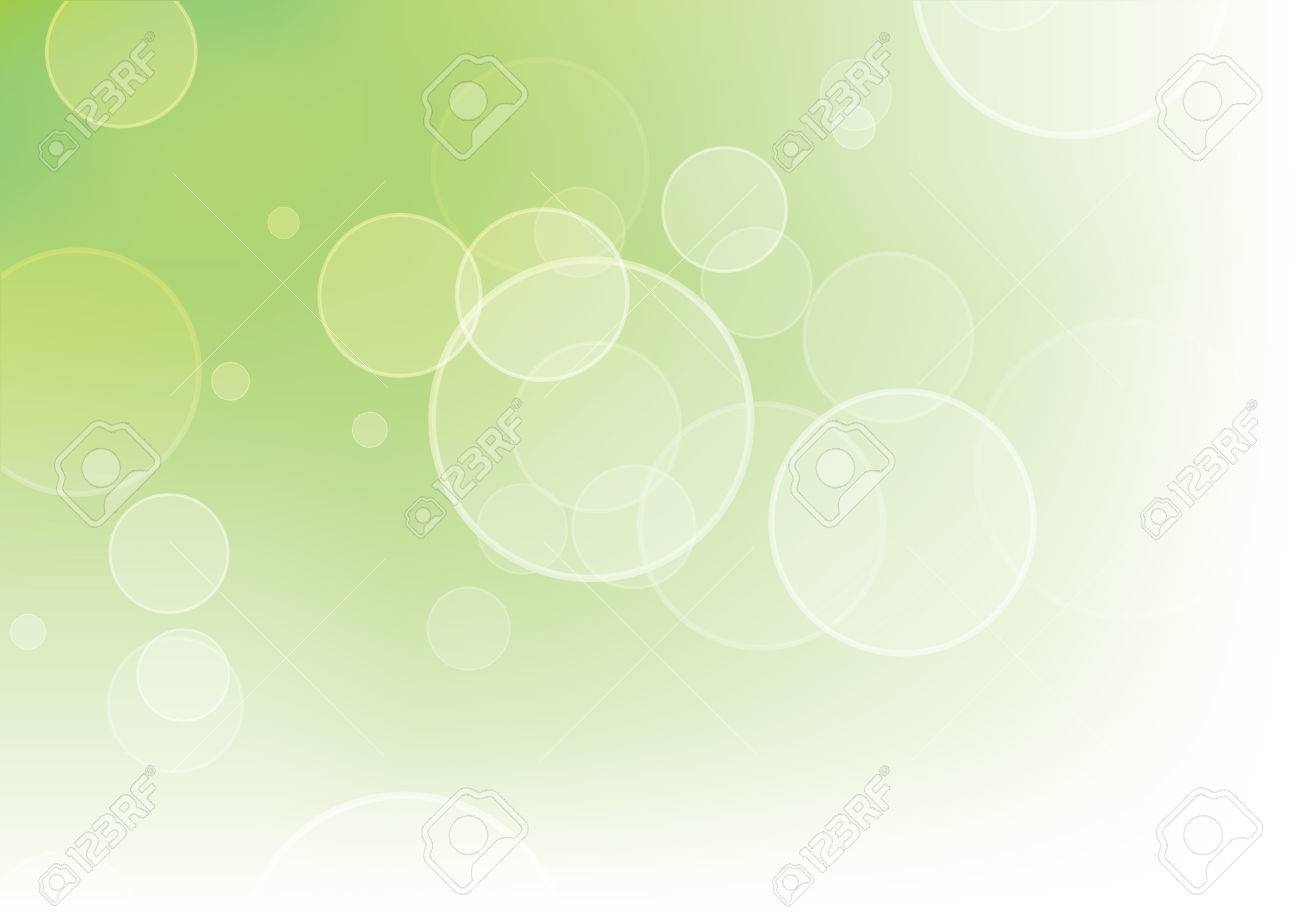 Beautiful abstract green background with bokeh effect. - 7305808