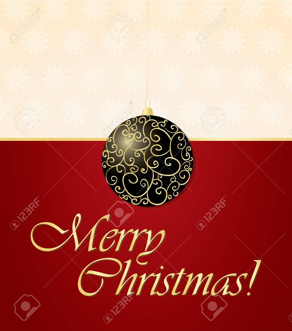 elegant christmas background - 8308784
