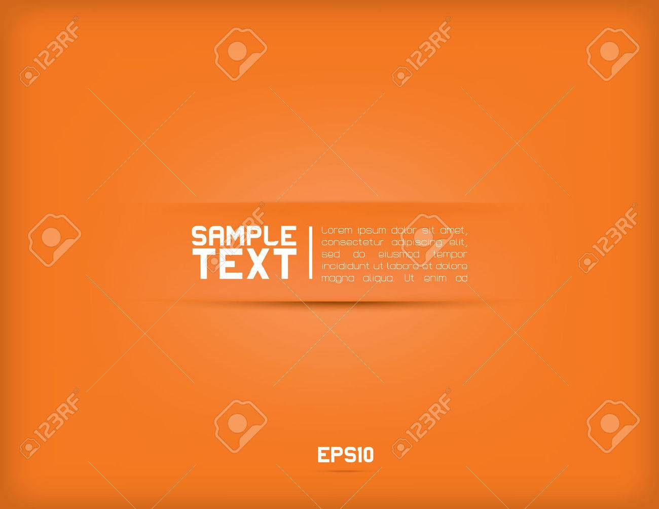 Modern minimalistic vector background for text - 43945727